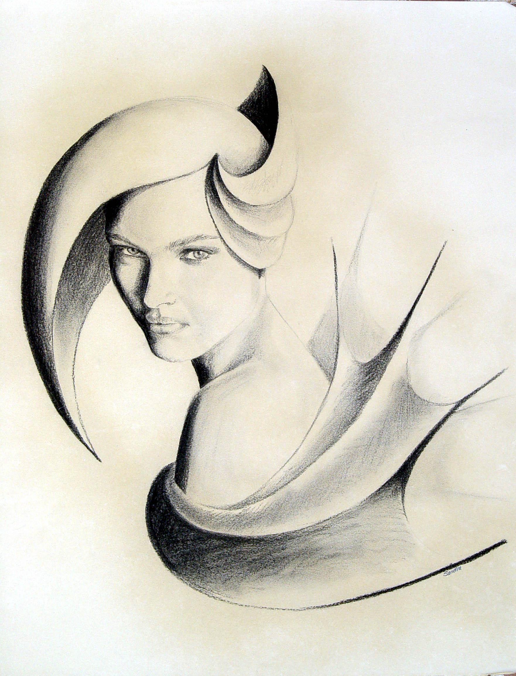 mujeres dibujos: